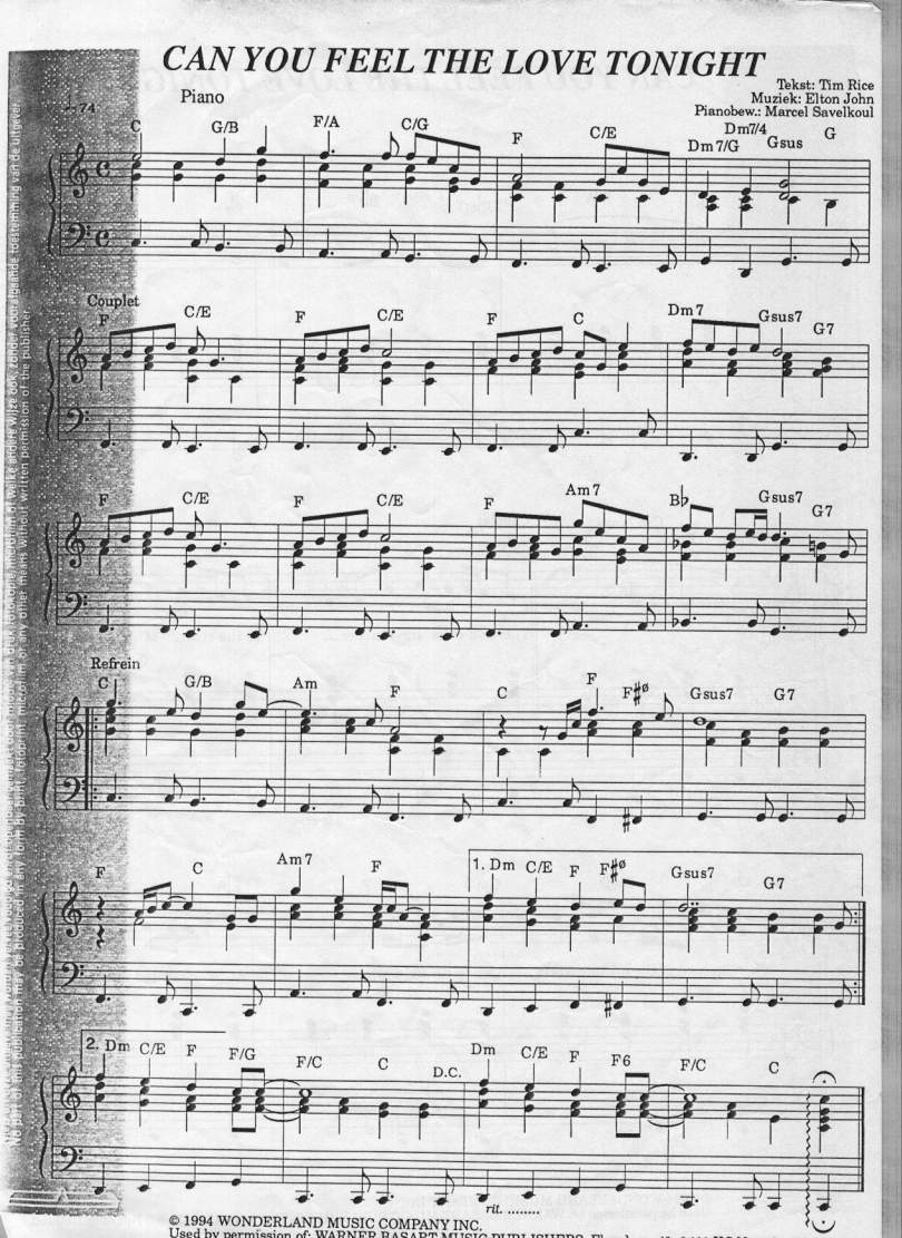 Sheet Music Pdf I Ve Written A Letter To Daddy