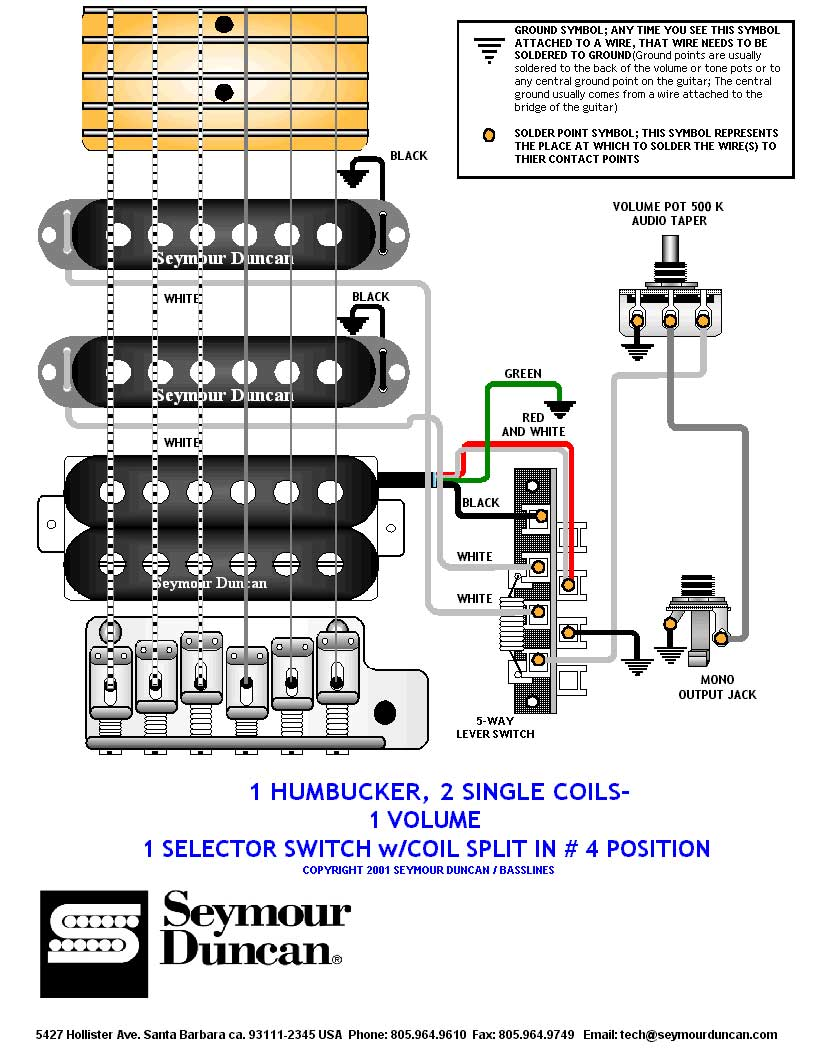 Amazing wiring seymour duncan pickups images electrical and es 335 wiring diagram seymour duncan asfbconference2016 Images