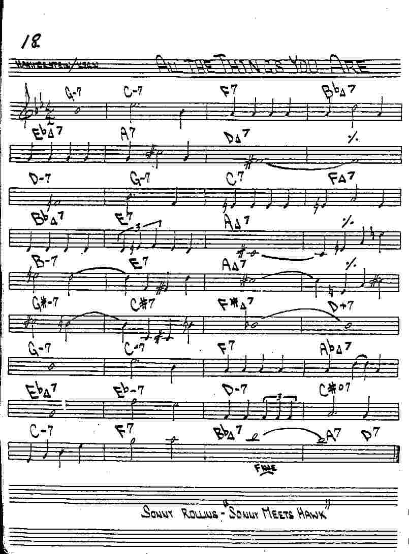 Sheet music and scores allthethingsyouareg jpg hexwebz Images